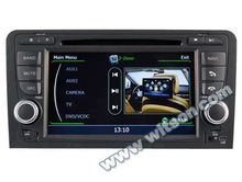 WITSON car dvb-t For Audi A3 With V-20 disc CDC Memory