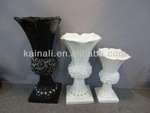 square bottom decorative rose rhinestone vase