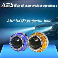 AES Bi-Xenon Projector Lens With HID Xenon Bulb for ca headlamp