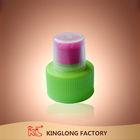 High quality Plastic bottle disc top 28mm PP vial screw sport cap