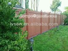 Garden Fence Plastic Wood Composite