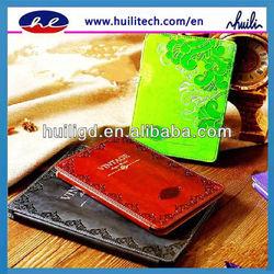 2013 European clic PU leather case for ipad 2