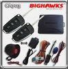 2012 new car alarm system BIGHAWKS CA703-8118 vw auto security flick key A6L flip case