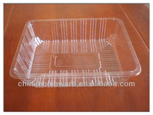 clear PS plastic hold vegetable and fruit container