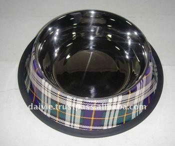 Anti skid regular Dog Bowl with sublimation printing style/ Non slip dog bowl/ ecofriendly dog bowl