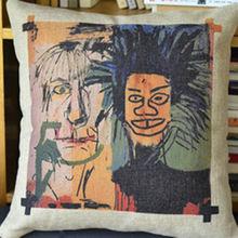 OEM-high quality graffiti art cheapesthold pillow wholesale