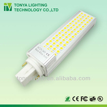 10w LED G24 tube replace 26w PLC SMD5050 CE ROHS