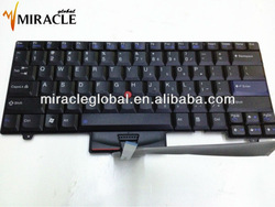 Keyboard for IBM Thinkpad T410 US layout black