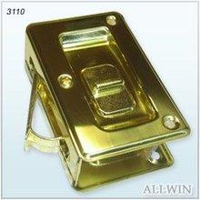 Brass Deluxe Pocket Door Latch