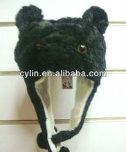 Winter Animal Faux Fur Ear Hat