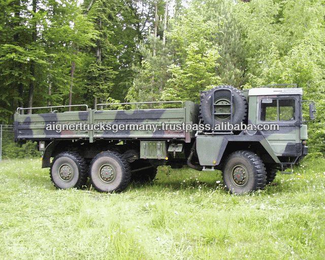 Camions des militaires 6x6 de l'homme KAT 1 d'occasion
