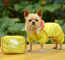 pet dog raincoat with factory price and low MOQ