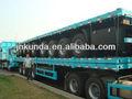 70 ton tri- essieu remorque surbaissée