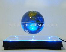 Novel Plastic Wedding Gifts ! Magic Maglev levitation Revolving Globe Craft Items W8023