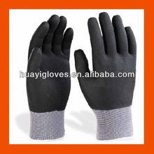 Fully Micro Foam Nitrile Coated Nylon Knit Gloves