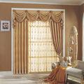 de lujo de la cortina blackout con nuevo diseño cenefa cenefas cortina cortina de desgin