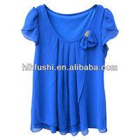 Top fashion lady blouse women t shirt