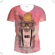 wholesale t shirts cheap t shirts in bulk plain, high quality full body sublimation printing t shirt