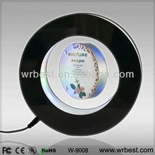Unique Chritmas gift/ Souvenir/ Decoration/Maglev Suspension Acrylic Led Photo Frame W9008