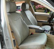 Grey Excellent Velvet Long Fur Car Seat Cover Fabric for Suzuki Auto Van Parts