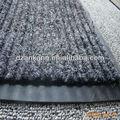 acanalado de poliéster forro de pvc alfombra de fieltro rodillo felpudo