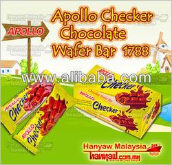 Apollo Checker Chocolate Wafer Bar 1788