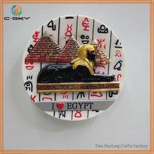 Egypt unique active gifts home decoration printed fridge magnet