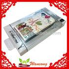 Environment friendly transparent plastics box mobil phone cover