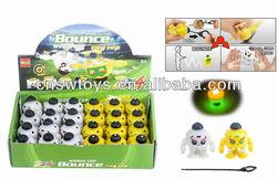 new boy toys flashing rack spinning jumping football