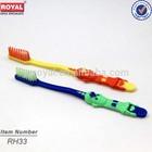 rotary child toothbrush/kid brushing teeth/dinosaur toothbrush for kids