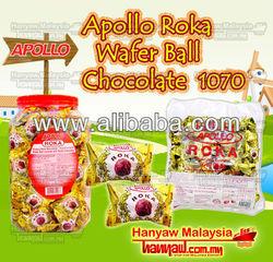 Apollo Roka Wafer Ball Chocolate