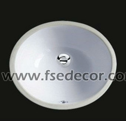 vitreous china sanitary ware CUPC undermount sink (FSE-CUS-2308)