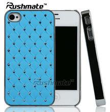 Checker Back Cover For Iphone 4G 4S Bling Diamond Case