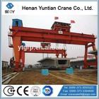 Hot Selling U Model Double Girder Gantry Crane Used For Factory Yard