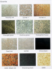 granite colors:slab, tile, paving stone, etc