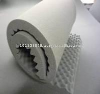 La prueba de sonido de la espuma/de absorción de sonido de la espuma