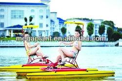 Outdoor water sport single water bike for sale