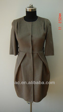 double-faced woolen great coats