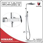 Baths for elderly thermostatic rain shower faucet