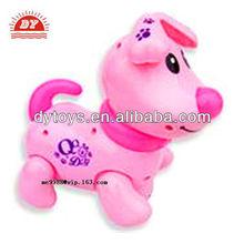 ICTI toy manufacturer custom making small plastic farm animal toy dog