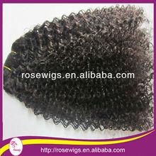 Unprocessed Malaysian Curly Virgin Hair Weft