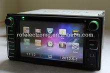 Double Din car dvd gps Car DVD GPS player navigation Head units Radio 2 din for TOYOTA RAV4(2001-2008)universal /COROLLA