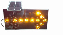 Solar traffic led arrow board