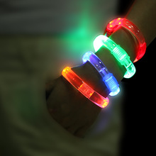 2014 cool led flashing bracelet promotion