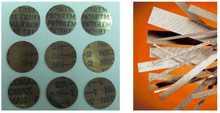 Thermostatic bimetal disc
