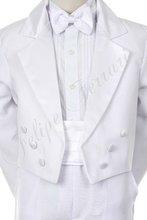 by008 bambino bianco ragazzo bambino abiti da cerimonia battesimo battesimo comunione festa di nozze 5pc fascione tuta tuxedo 2t 3t 4t