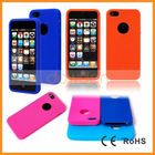 Wholesale Silicone Handphone Accessories for iPhone 5 with Fingerprint Design