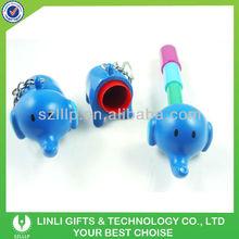 Plastic mini animal keychain 3d pen