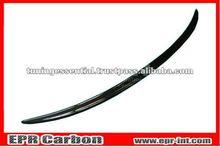 For Mercedes Benz C-Class W204 Carbon Fiber Rear Trunk Boot Lip Spoiler