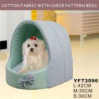 Cotton standard fabric princess pet bed